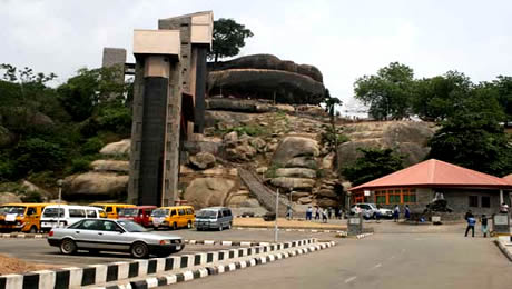 Abeokuta niger City Olumo Rock Abeokuta West