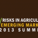 Risks in Agriculture: Emerging Markets 2013 Summit, Accra