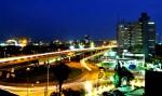 @ Night: Falomo Round-About, Victoria Island, Lagos